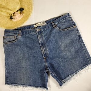 550 Levis vintage Relaxed fit High rise cut off